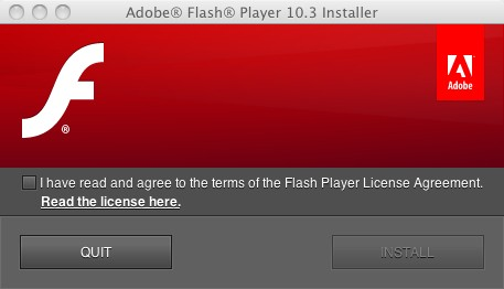 Flash Player 10.3 beta