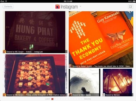 Flipboard gains Instagram support