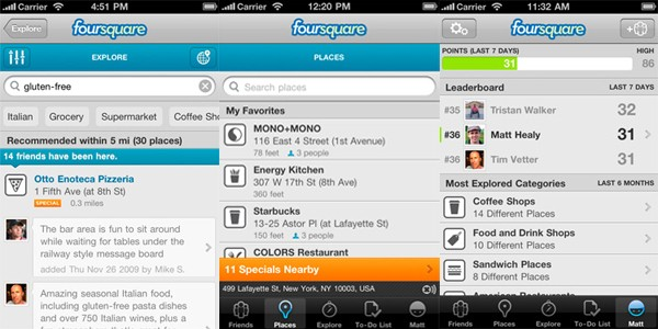 Foursquare 3.0 for iPhone