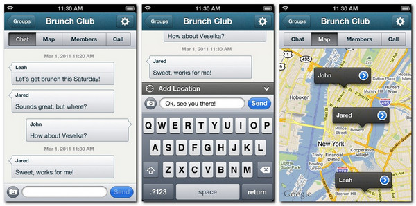 GroupMe 2.0 for iOS