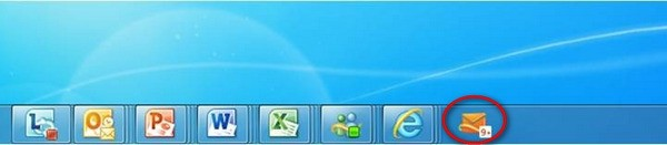 Hotmail IE9 desktop notification