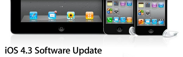 iOS 4.3 software update