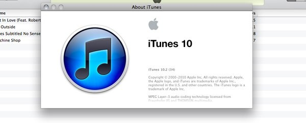 iTunes 10.2