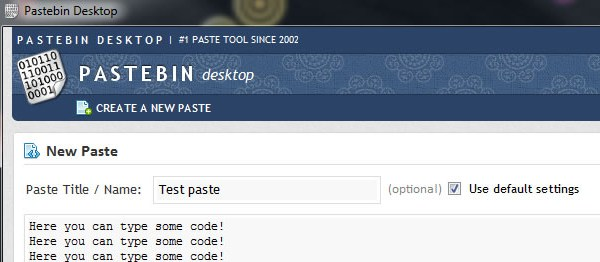 pastebin