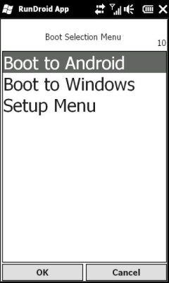 RunDroid for HTC HD2