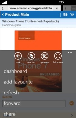 surfy tabbed browser windows phone 7