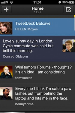 Tweetdeck iOS Update