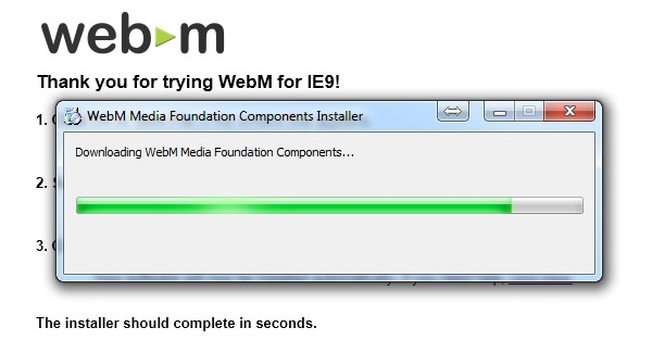 webm ie9 internet explorer 9