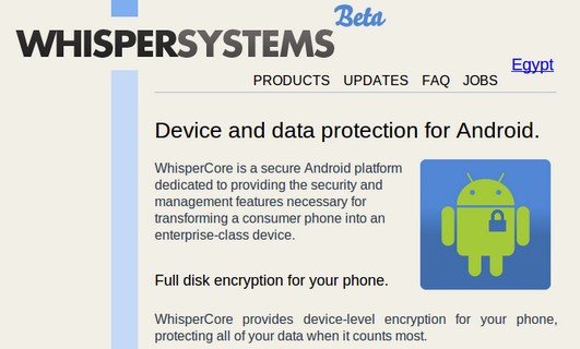 Whispersystems WhisperCore for Android