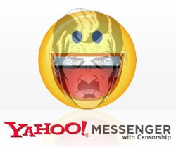 Yahoo Messenger Big Brother censorship