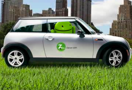 android zipcar app arriving