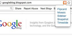 Blogger Dynamic Views Chrome extension