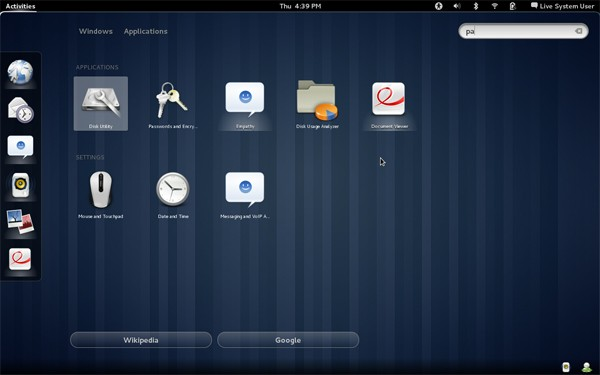 GNOME 3 desktop manager