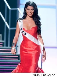 Miss USA evening gown