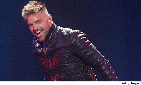 "... some people ""are uncomfortable by his nature,"" Puerto Rican Ricky Martin ..."