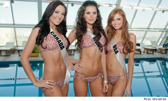 Miss Universe 2011 beauties
