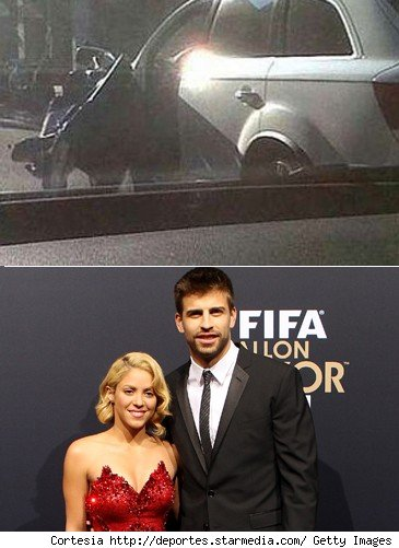 gerard pique car accident