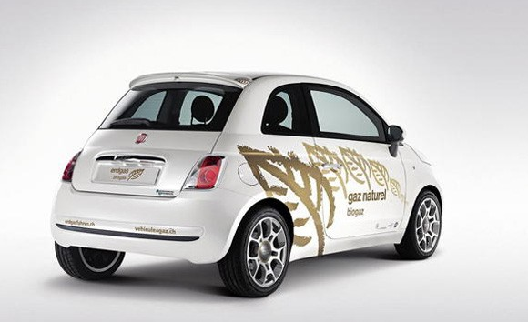 2010 fiat 500 concept gaz naturel. Black Bedroom Furniture Sets. Home Design Ideas