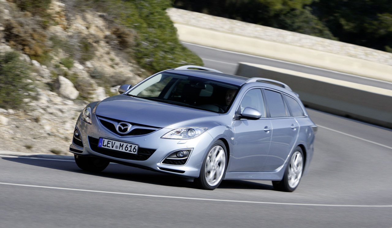 mazda 6 ii facelift sedan wagon topic ufficiale 2010 mazda autopareri. Black Bedroom Furniture Sets. Home Design Ideas