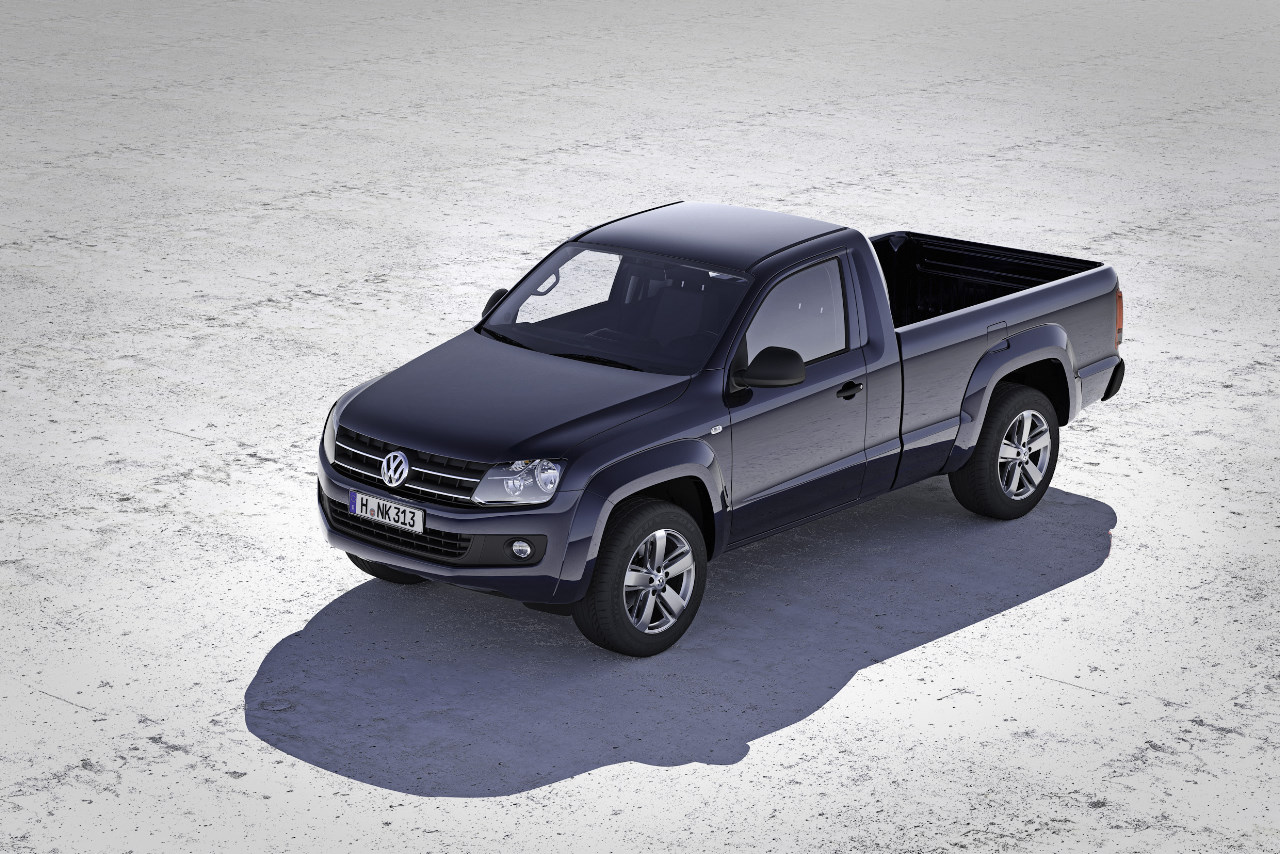 VW Amarok cabina simple
