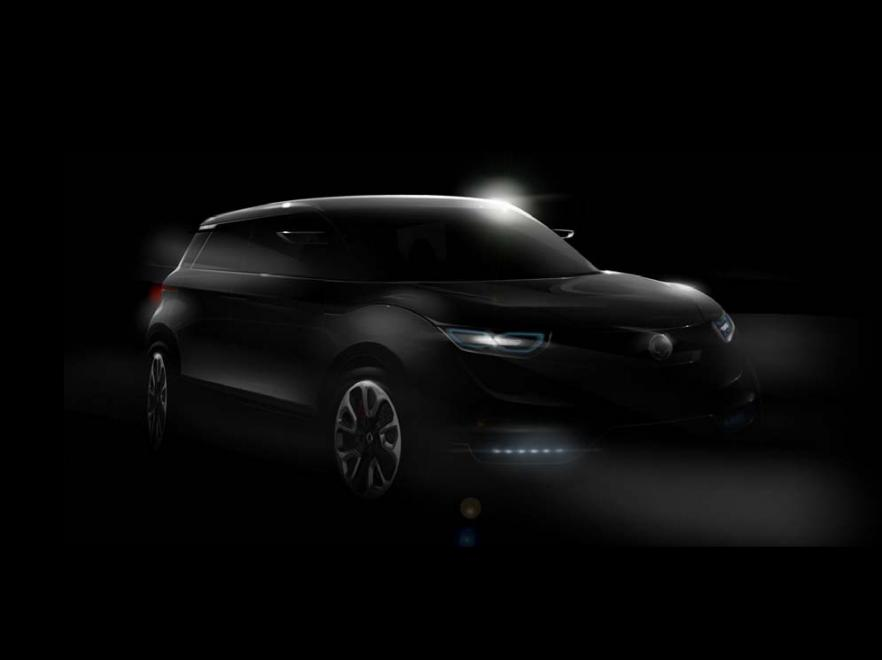2011 ssangyong concept xuv - photo #22