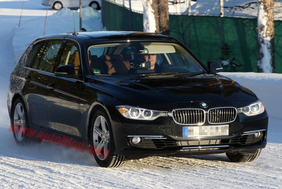 Fotos espía: BMW Serie 3 Touring
