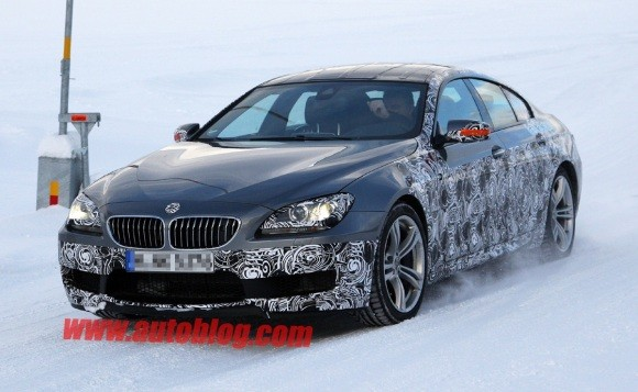Fotos espía: BMW M6 Gran Coupé