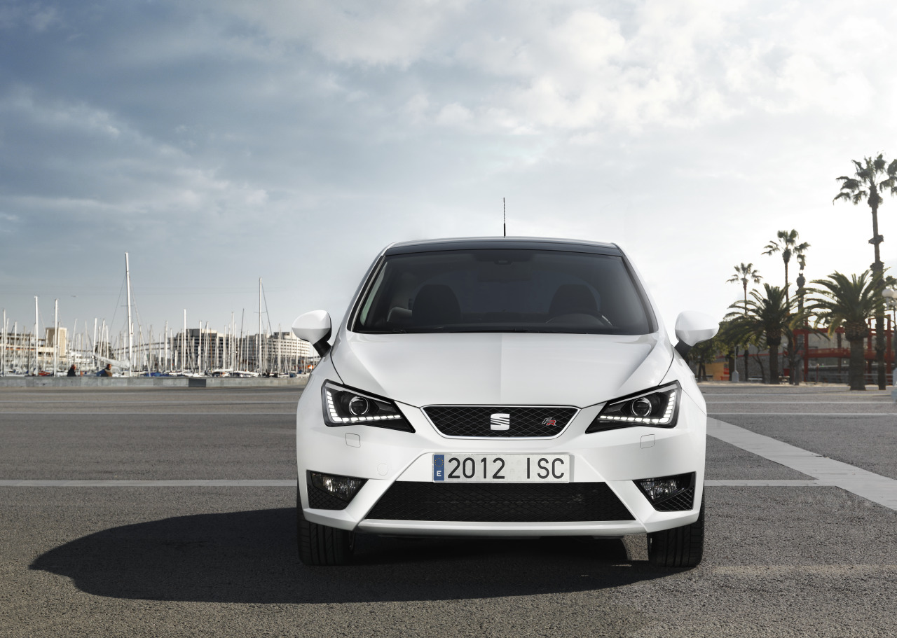 unveiled 2012 seat ibiza restyling. Black Bedroom Furniture Sets. Home Design Ideas