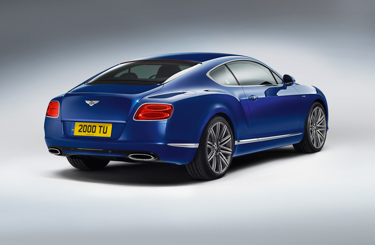 02 2013 Bentley Continental Gt Speed