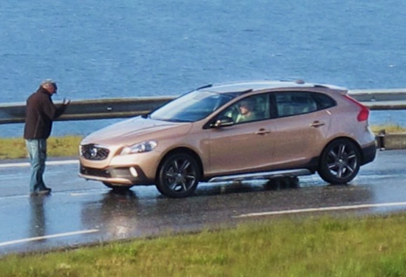 Fotos espía: Volvo XC40, al natural