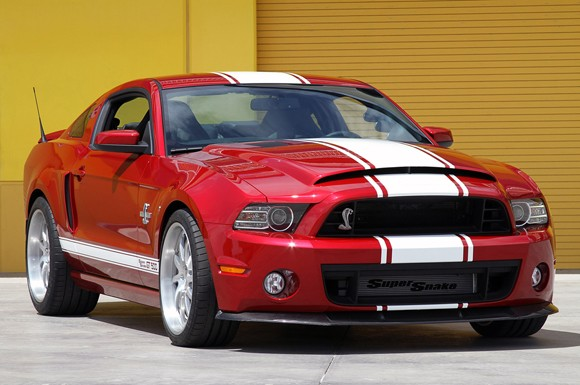 Ford Mustang Shelby GT500 Super Snake. Ahora con 850 CV