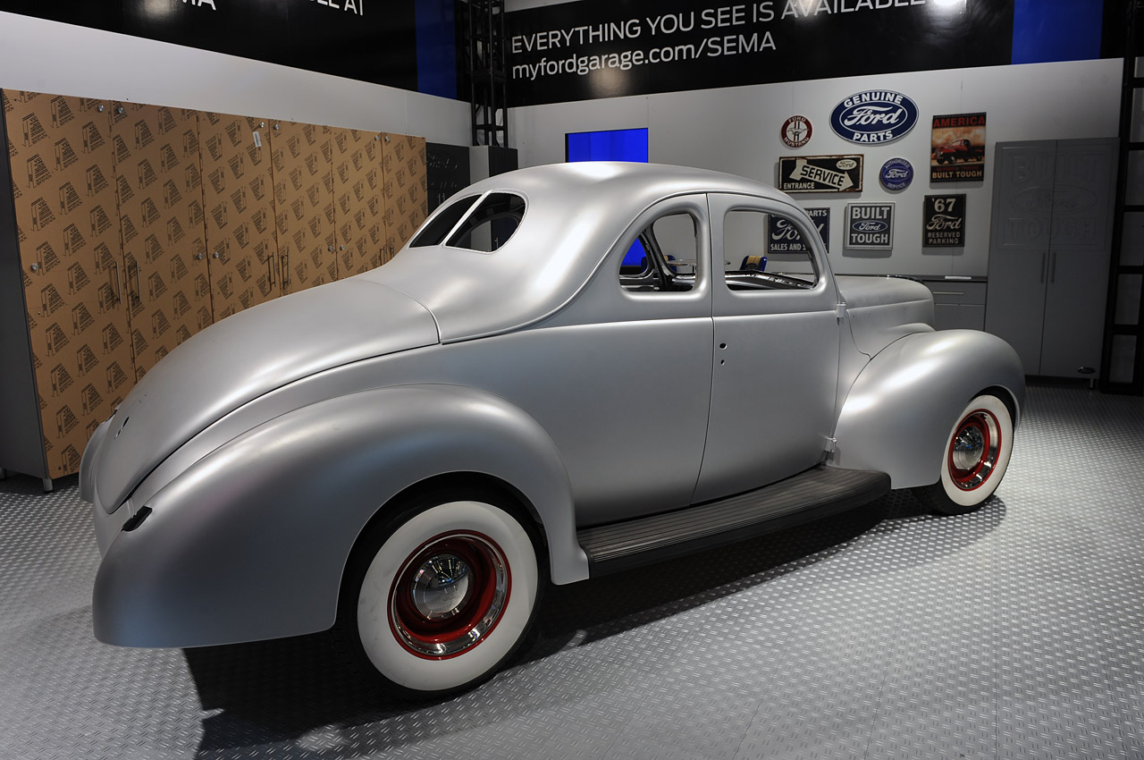 Ford Coupe 1940 Body In White Sema 2012 Photo Gallery Autoblog Classic Hot Rod Wiring Diagram