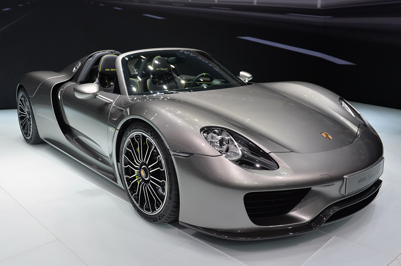 porsche 918 spyder concept car. Black Bedroom Furniture Sets. Home Design Ideas