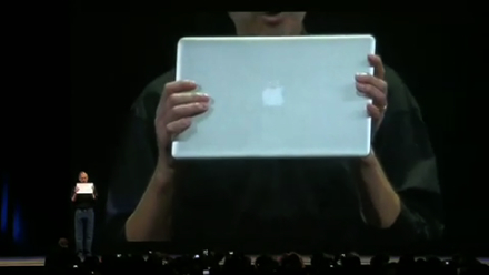 El video de la conferencia de Steve Jobs en el sitio de Apple