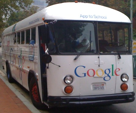 Download Un bus de Google viajará por India compartiendo el internet