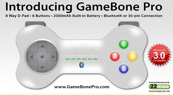 GameBone Pro: Un mando inalámbrico para el iPhone