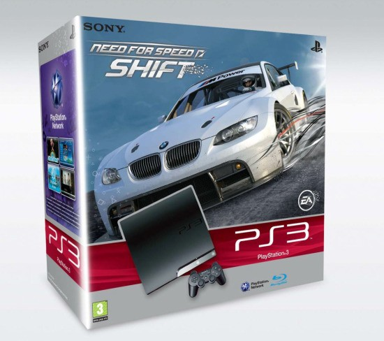 La PS3 de 250 GB se estrenará en Europa junto a un 'Need For Speed'
