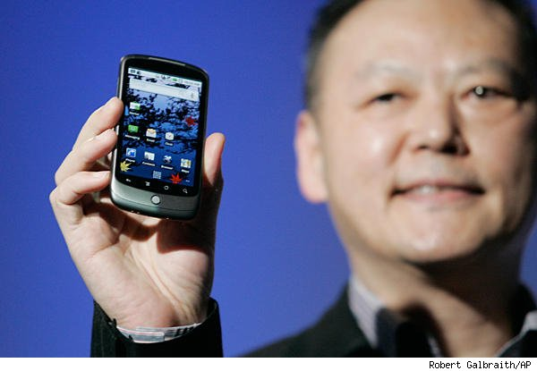 Peter Chou, CEO de HTC, dice que el Nexus One es un éxito