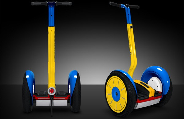 Segway i2 pierde la compostura a manos de Colorware (¡en vídeo!)