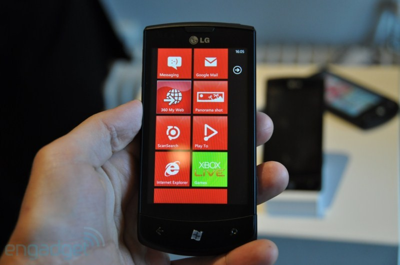Windows Phone 7 ya est&aacute; en M&eacute;xico