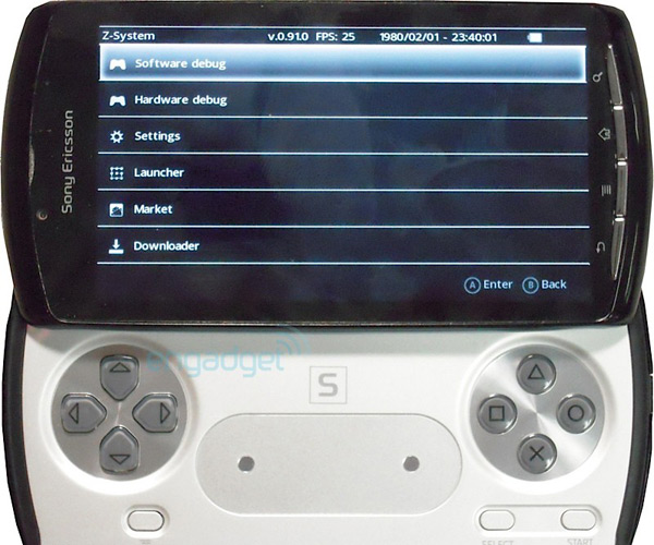Xperia Play PSPhone PlayStation Phone MWC