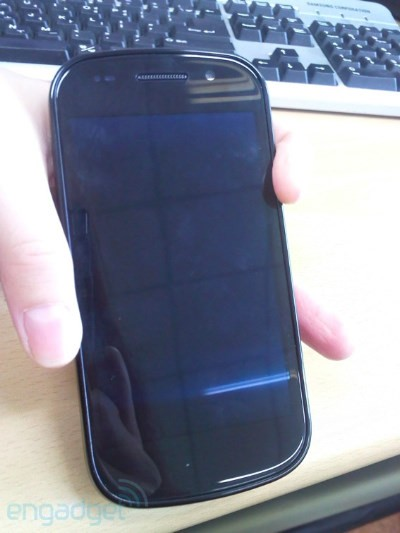 Nexus S, primeras fotos en vivo - Exclusiva Engadget