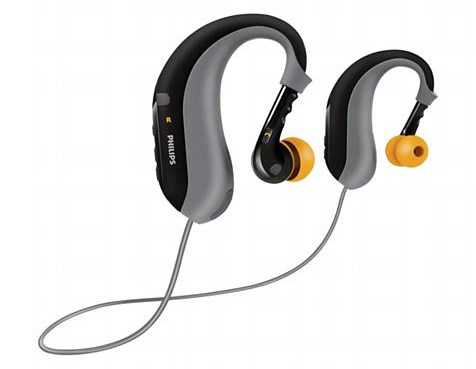 Philips ActionFit, auriculares Bluetooth lavables para deportistas