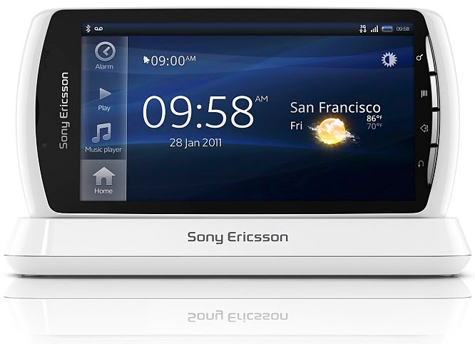 Xperia Play de color blanco, de momento en exclusiva para O2 en Reino Unido