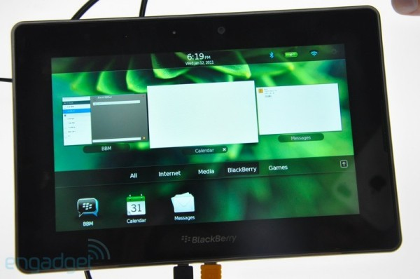 BlackBerry Playbook correrá apps de Android (Bloomberg dixit)