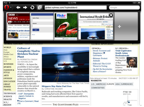 Opera Mini 6.0 para iOS ya compatible con el iPad