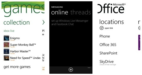 Windows Phone 7 'Mango' podría contar con integración con el chat de Facebook, Office 365 y Xbox Live