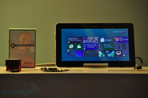 Qualcomm anuncia Snapdragon de dos y cuatro núcleos para Windows 8