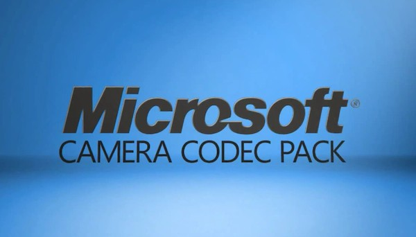 Microsoft Camera Codec Pack para Windows 7 y Windows Vista
