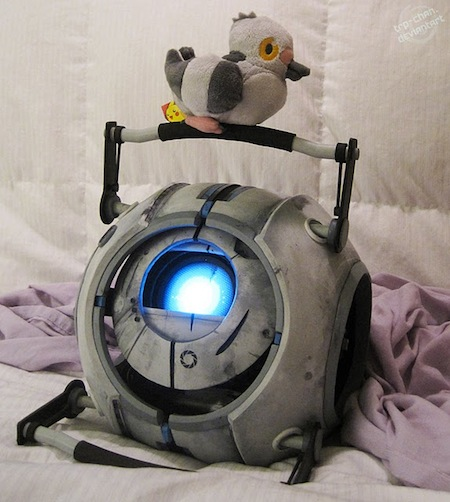 Robot Wheatley en la vida real  [Video]
